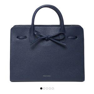 Mansur Gabriel blue sun bag (N w/o tag)